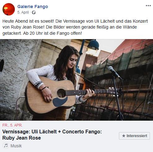 Galerie Fango, Cottbus 2019
