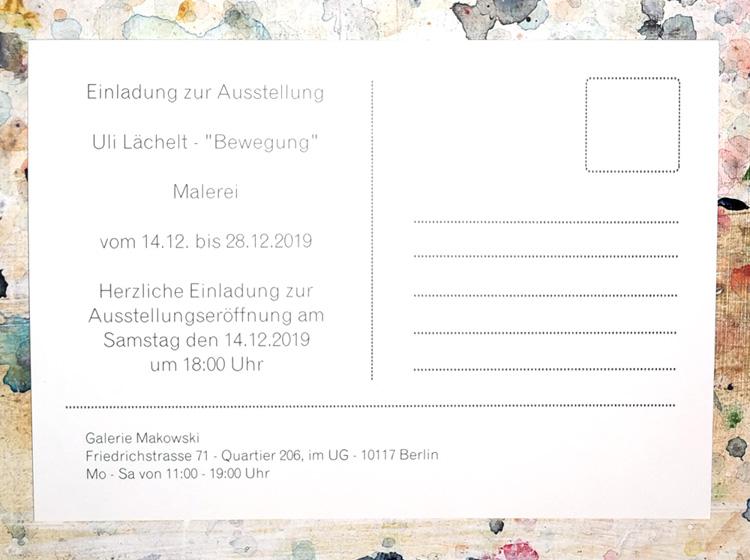 Galerie Makowski Berlin 2019